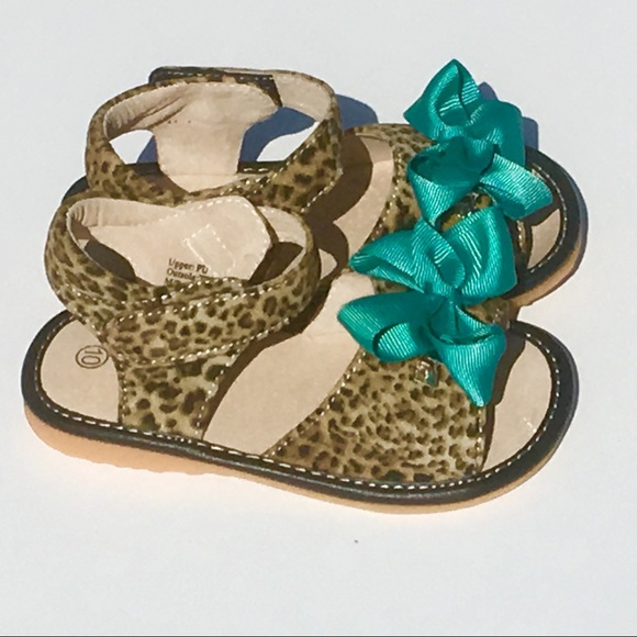 ff95ed991c New Laniecakes Squeaky leopard print sandals